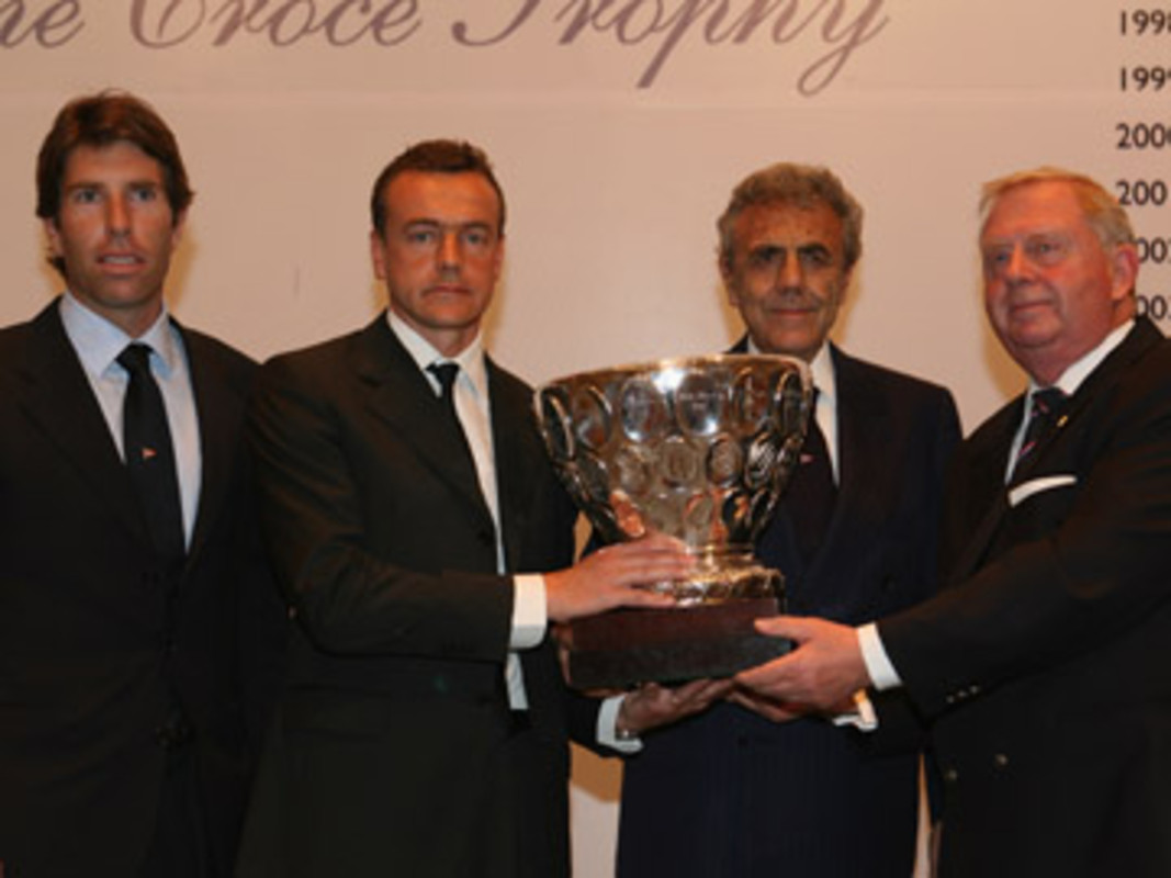 The Beppe Croce Trophy presentation