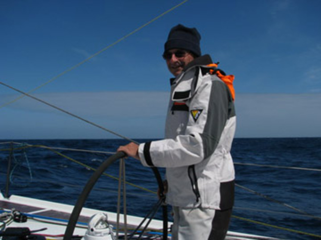 Dominique WAVRE at the helm of Temenos II