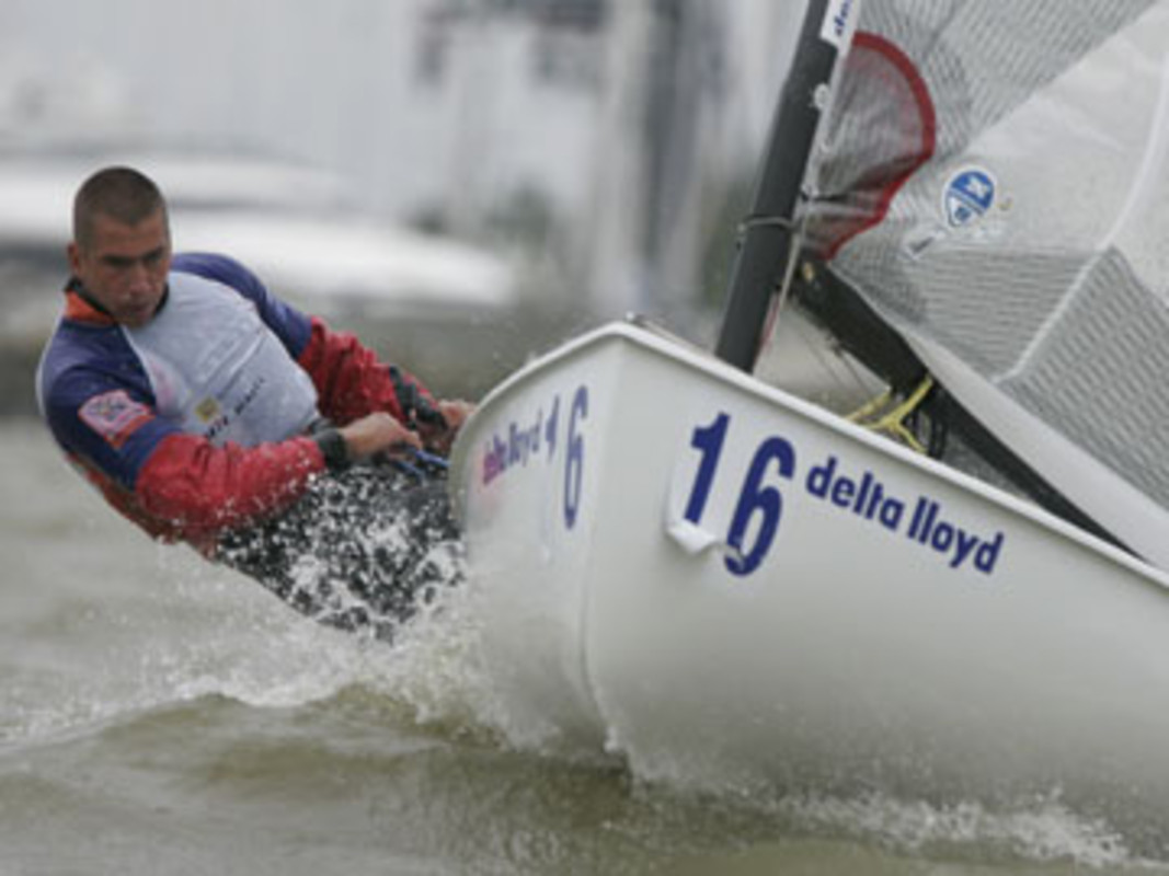 Pieter-Jan POSTMA competes at the 2008 Delta Lloyd Regatta