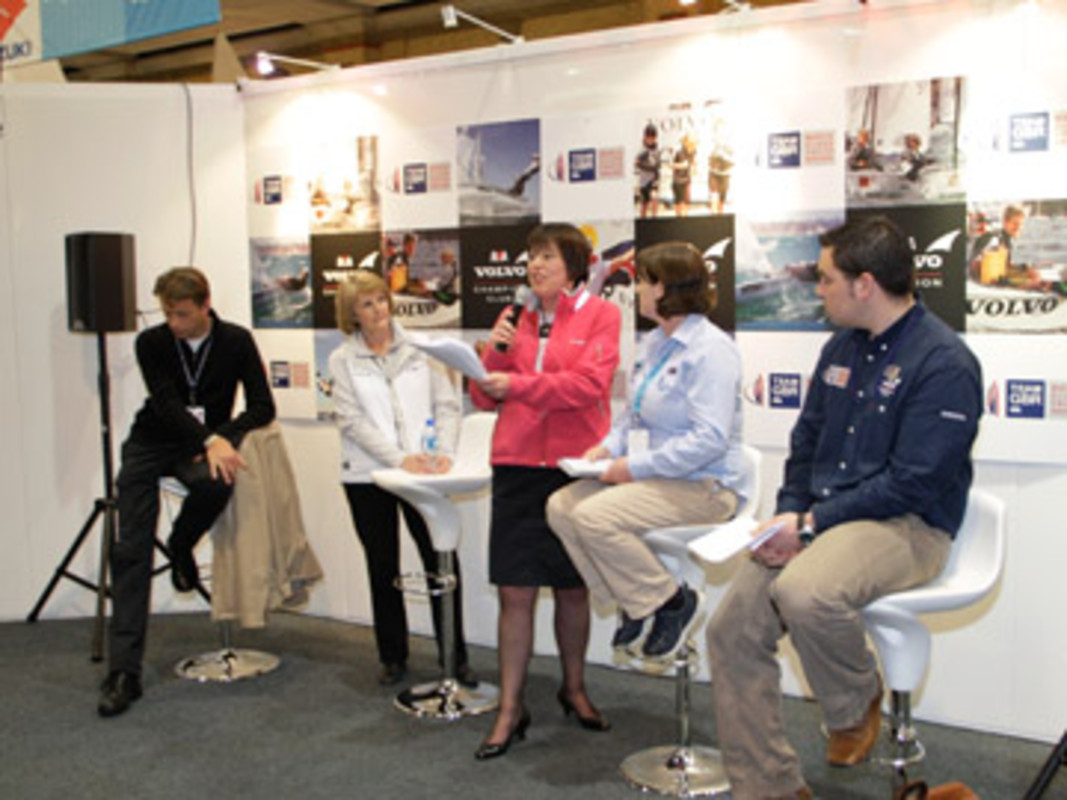 The Green Blue marine ecology presentation at the Dinghy Sailing Show