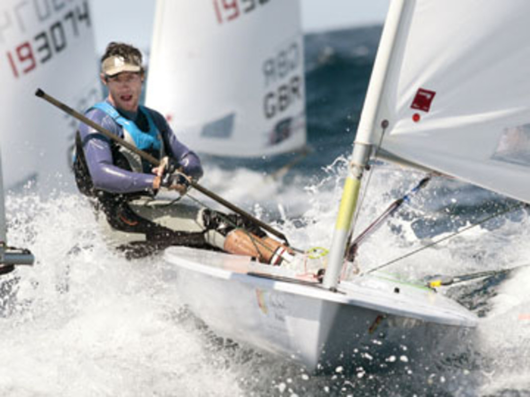 Julio ALSOGARAY at the 2008 Laser World Championship