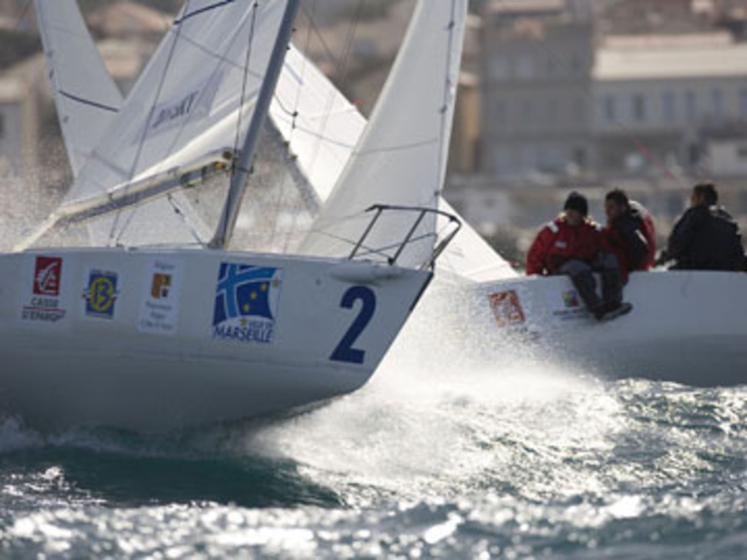 Action from day two in Marseille