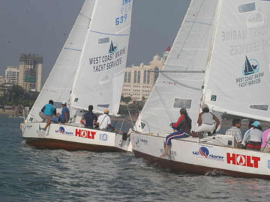Racing in Mumbai