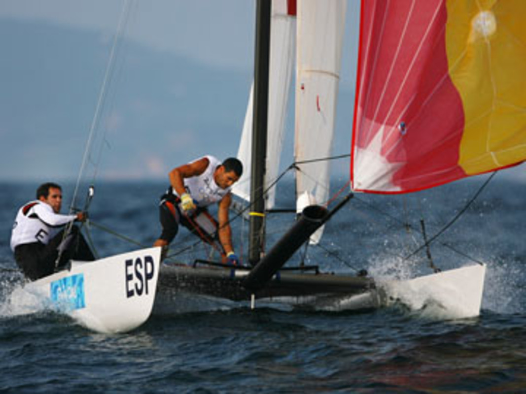 Olympic Sailors Changing Classes