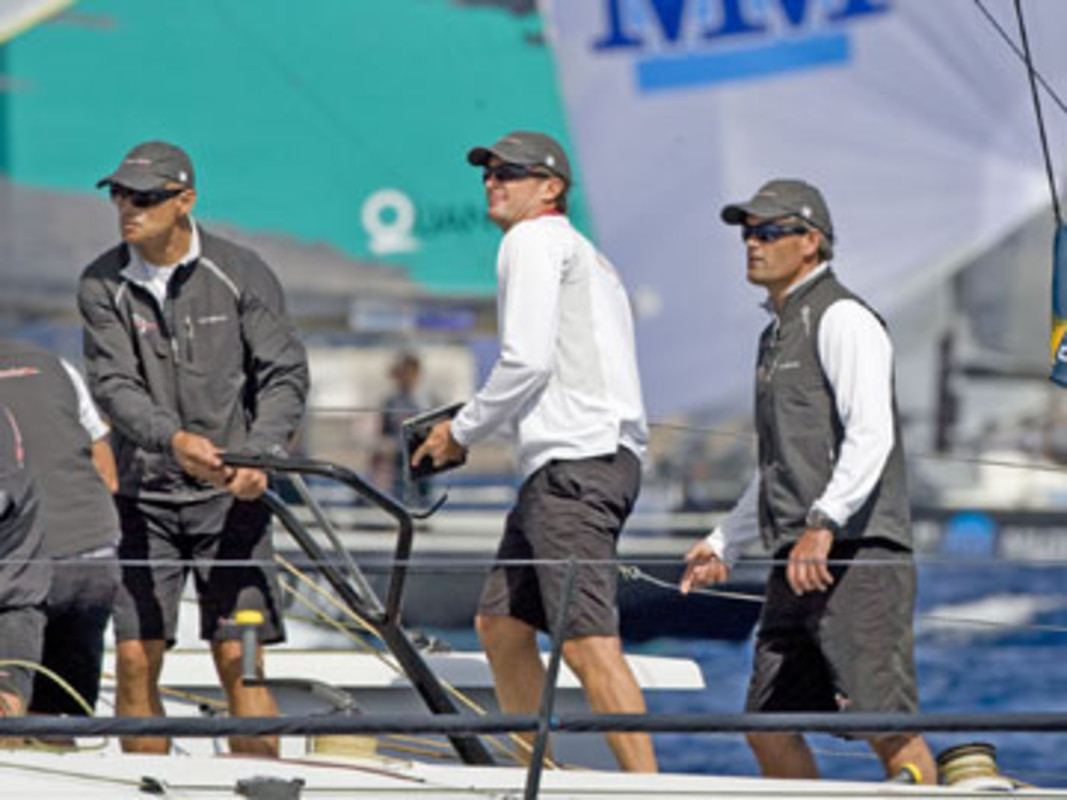 Defending champions Artemis got off to a great start on day one of the TP52 Worlds
