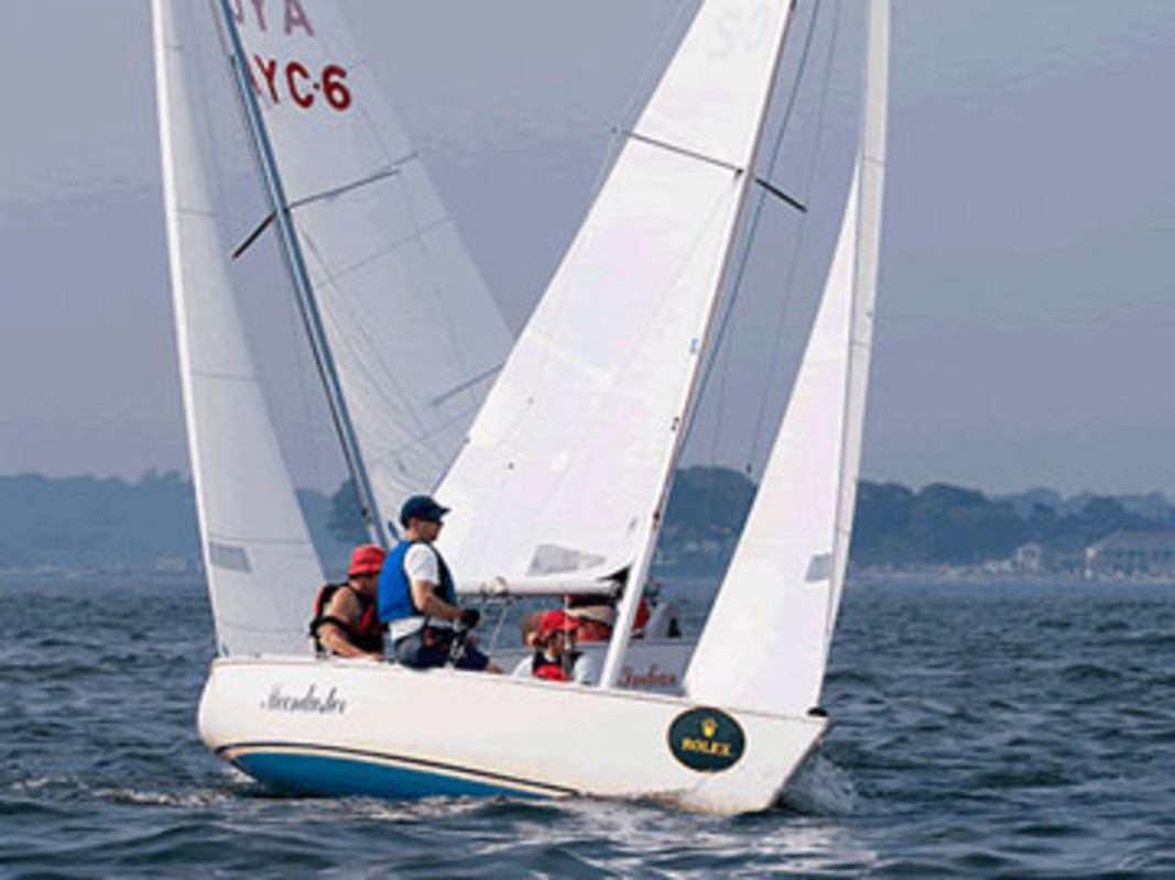 Sunday's racing in the 2008 US Disabled Sailing Championship