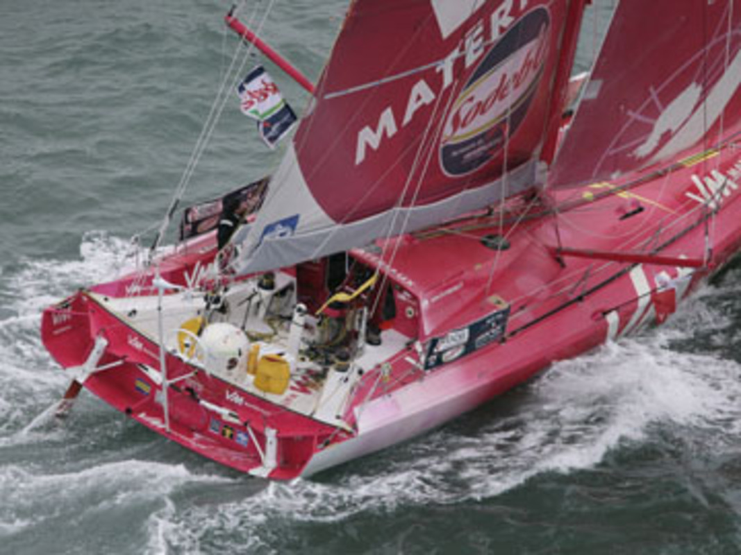 VM Materiaux at the start of the race