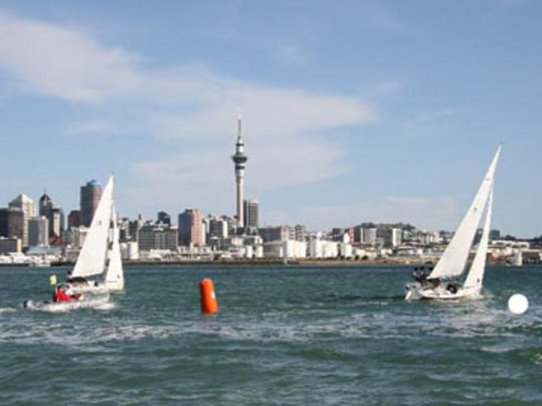 Racing at the Royal New Zealand Yacht Squadron