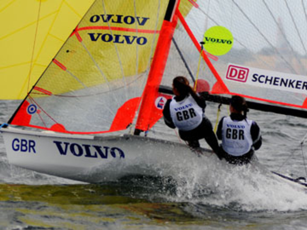 Racing at the 2008 Volvo Youth Sailing ISAF World Championship