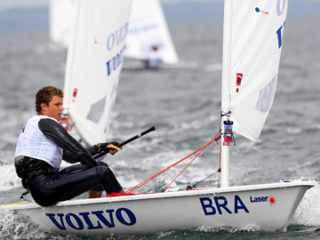 Jorge Zarif at the 2008 ISAF Youth Worlds