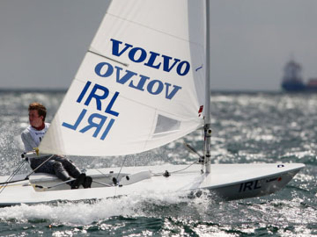 Ireland's Ben LYNCH competing at the 2008 Volvo Youth Sailing ISAF World Championship