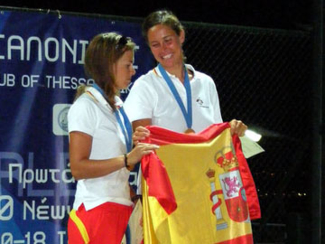 Spain's Tara PACHECO and Berta BETANZOS