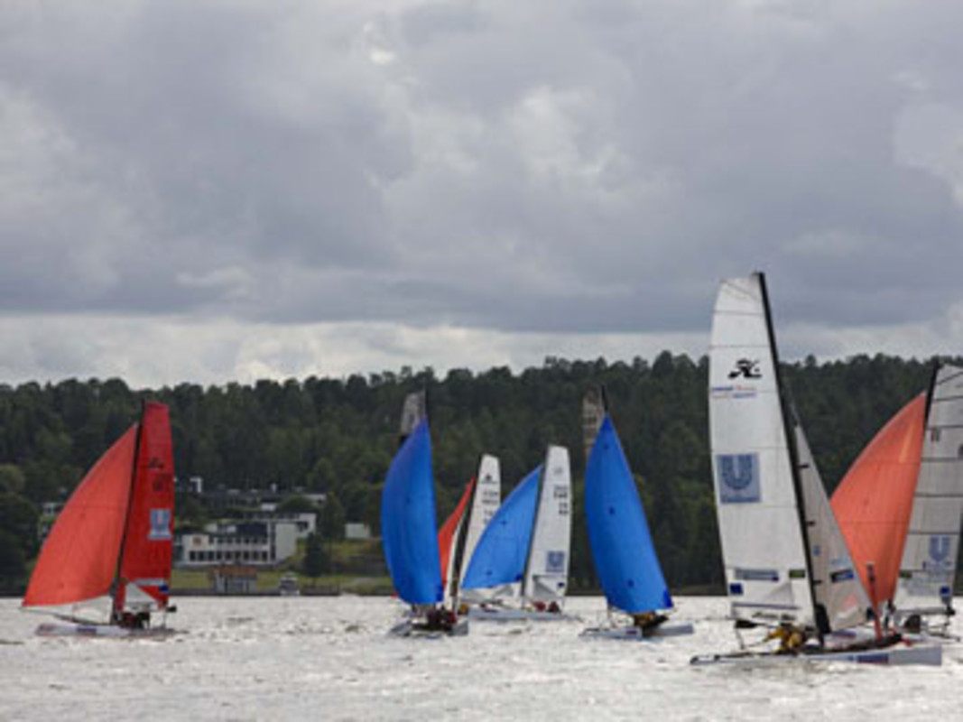 Action from the start of the Archipelago Raid at Lidingö