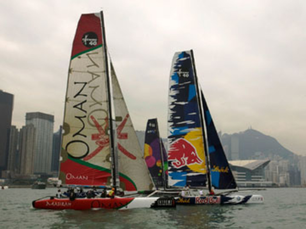 BT came out on top on day two in Hong Kong
