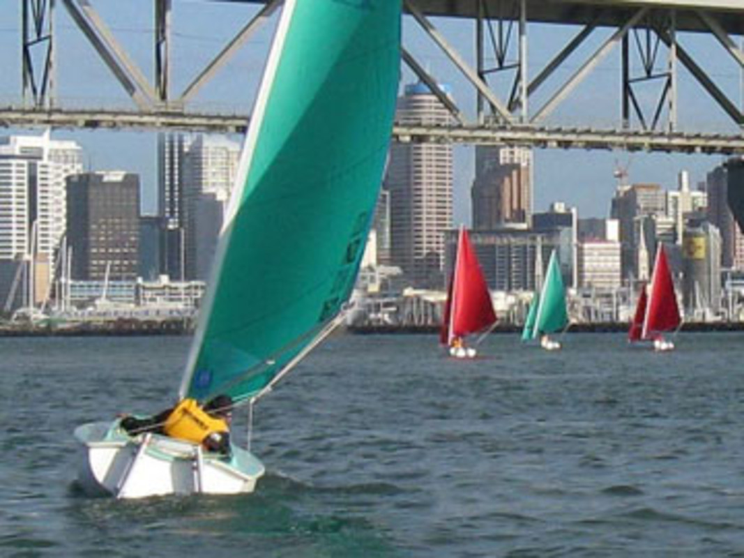 Access Liberties racing on Auckland Harbour