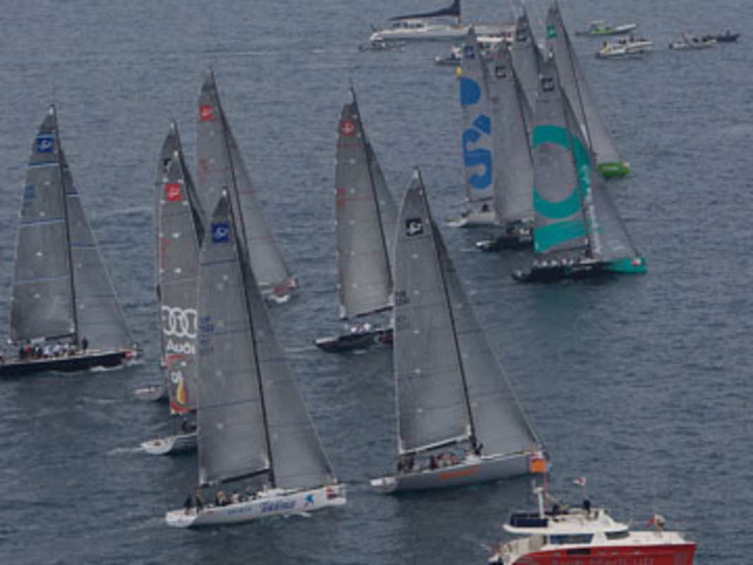 The Audi MedCup fleet get their 2009 season underway