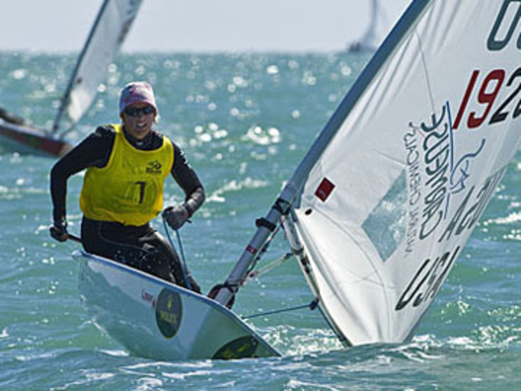 Anna TUNNICLIFFE in action at Miami