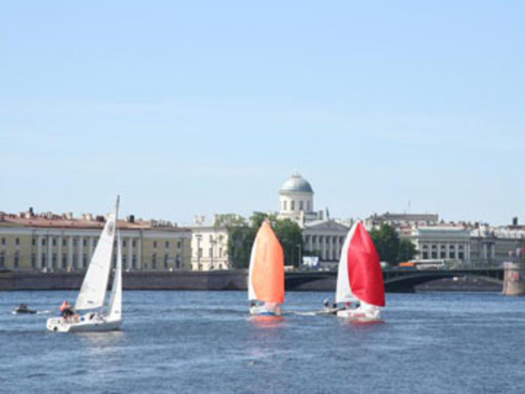 Racing on the Neva River