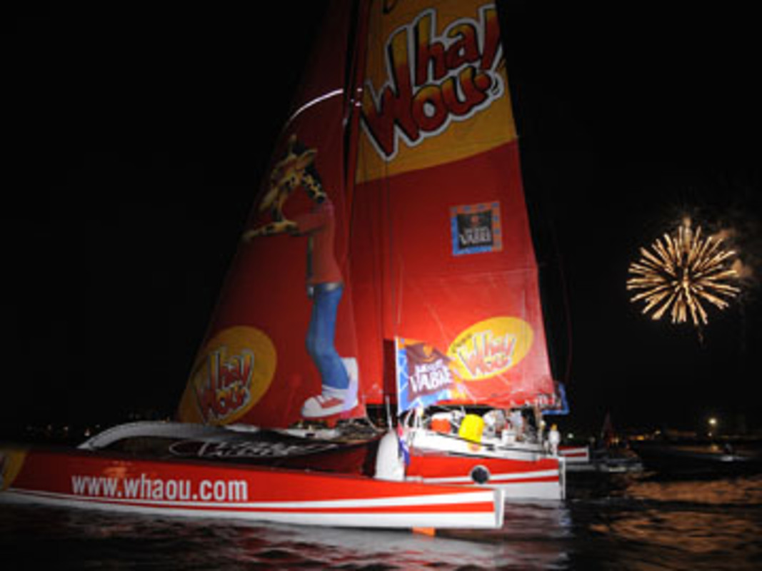Crêpes Whaou arrive in Costa Rica to take line honours in this year's TJV
