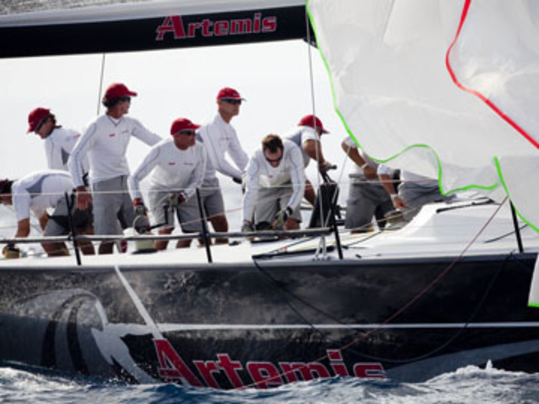 Artemis racing in Palma