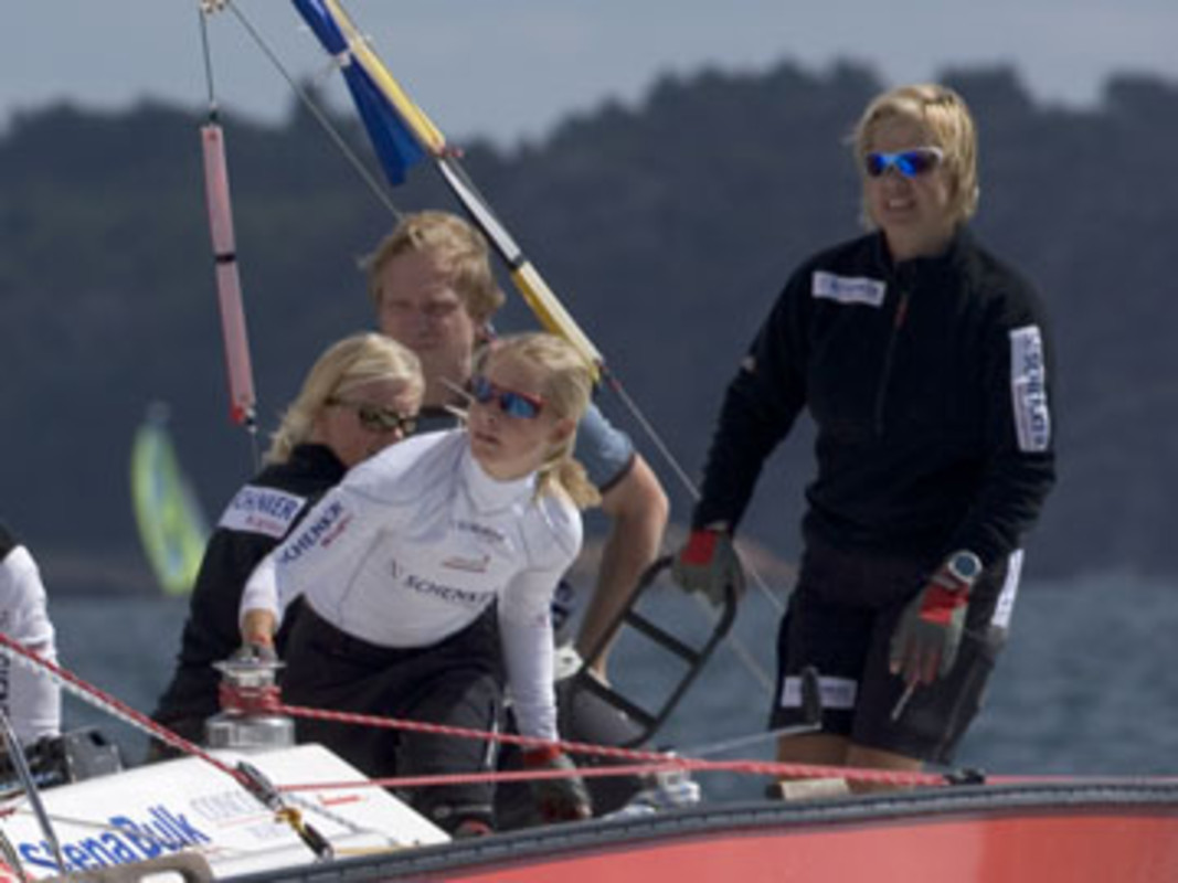 Marie BJORLING competes at the 2006 Lysekil Women's Match