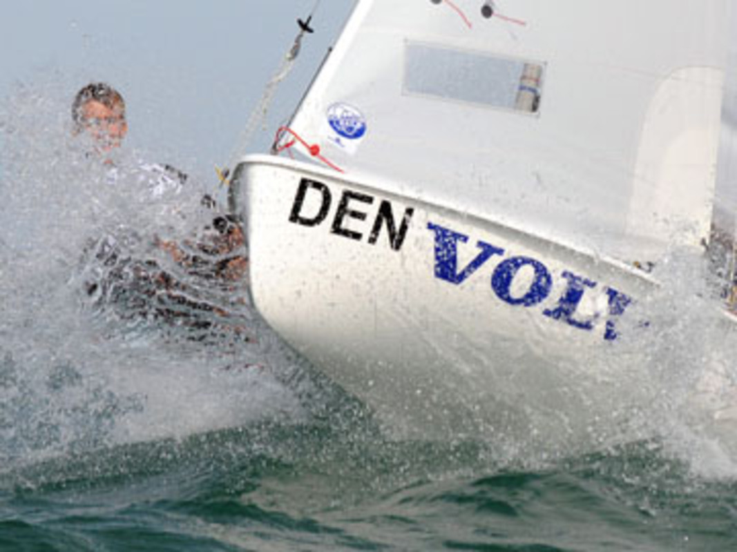 New Zealander Sam MEECH in the Laser Radial