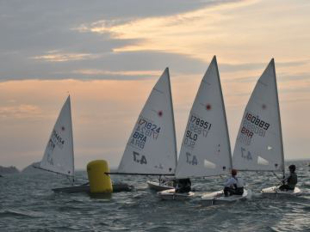 Image from day 4 of the Laser 4.7 Worlds