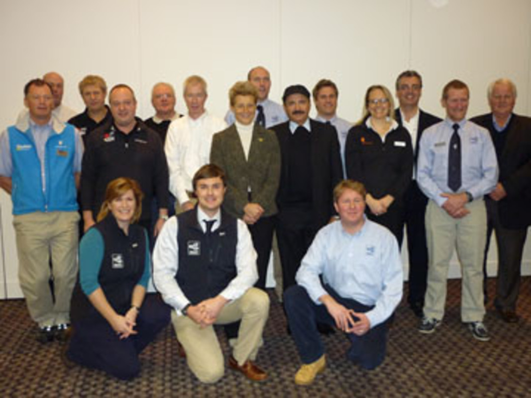 The ISAF Training Commission, Connect to Sailing Partners and members of the ISAF Staff