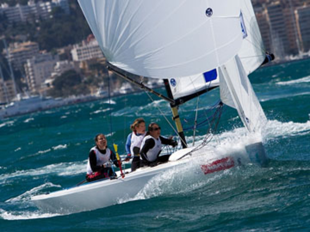 Matchracing in strong conditions