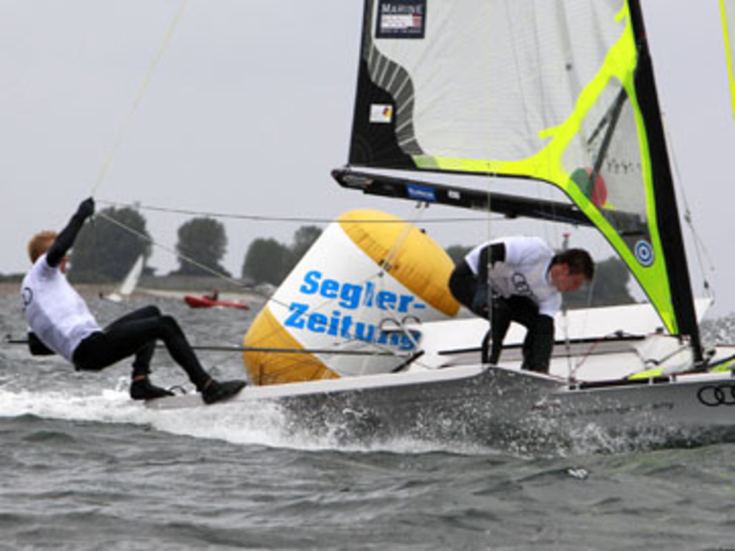 Day one of racing at Kieler Woche