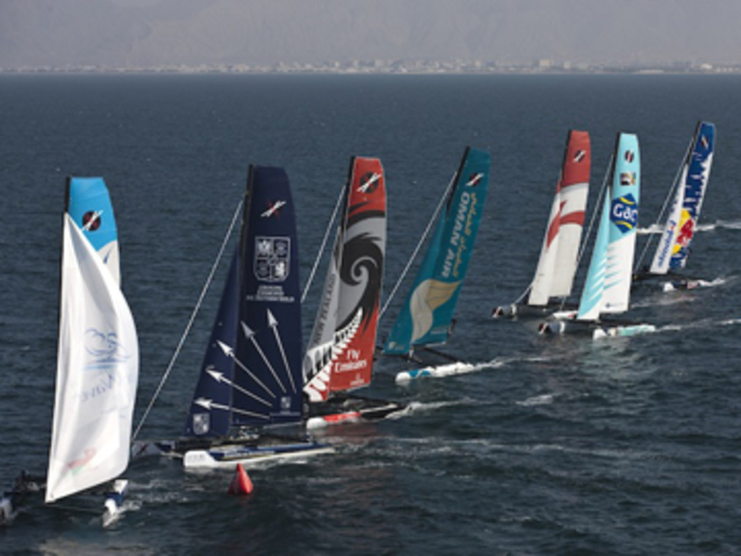 Extreme Sailing Series Fleet
