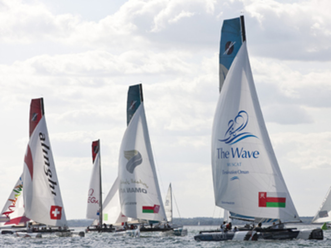 Fleet Racing On Day 4