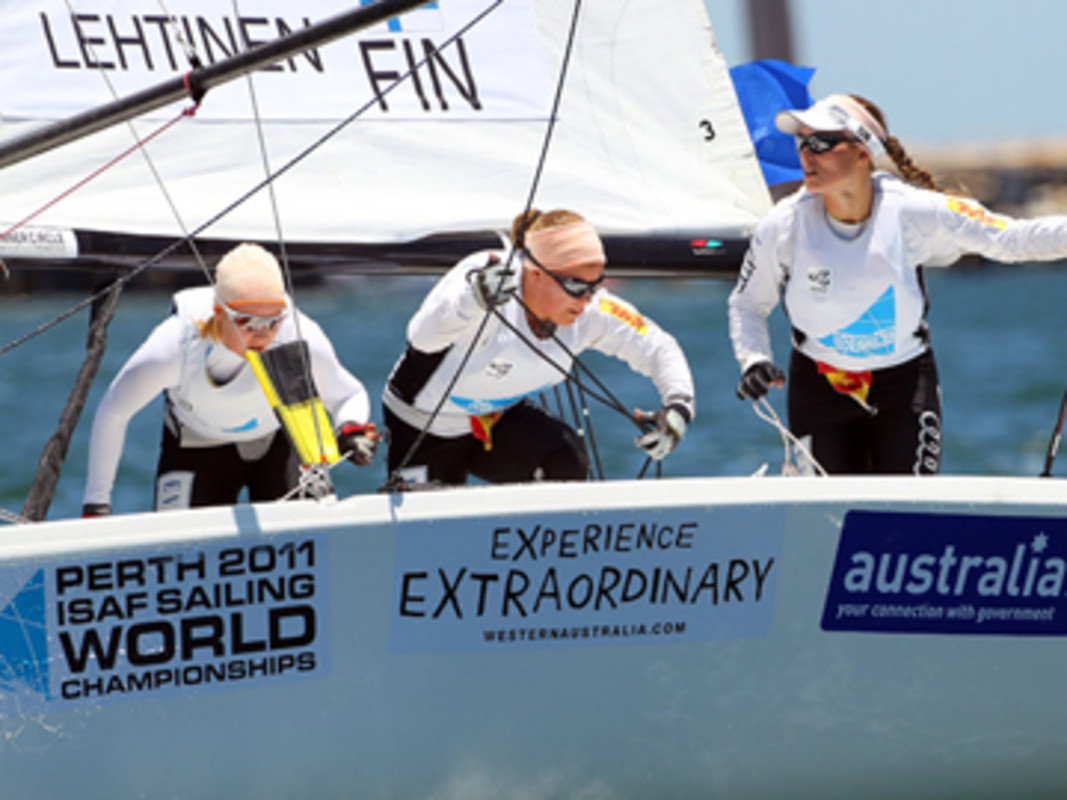 The Sailors Experienced The Best Of Australia At Perth 2011