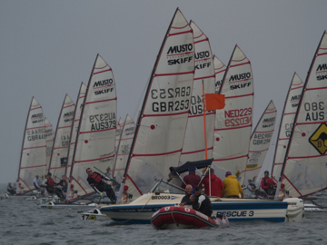 Musto Skiff World Championship Action