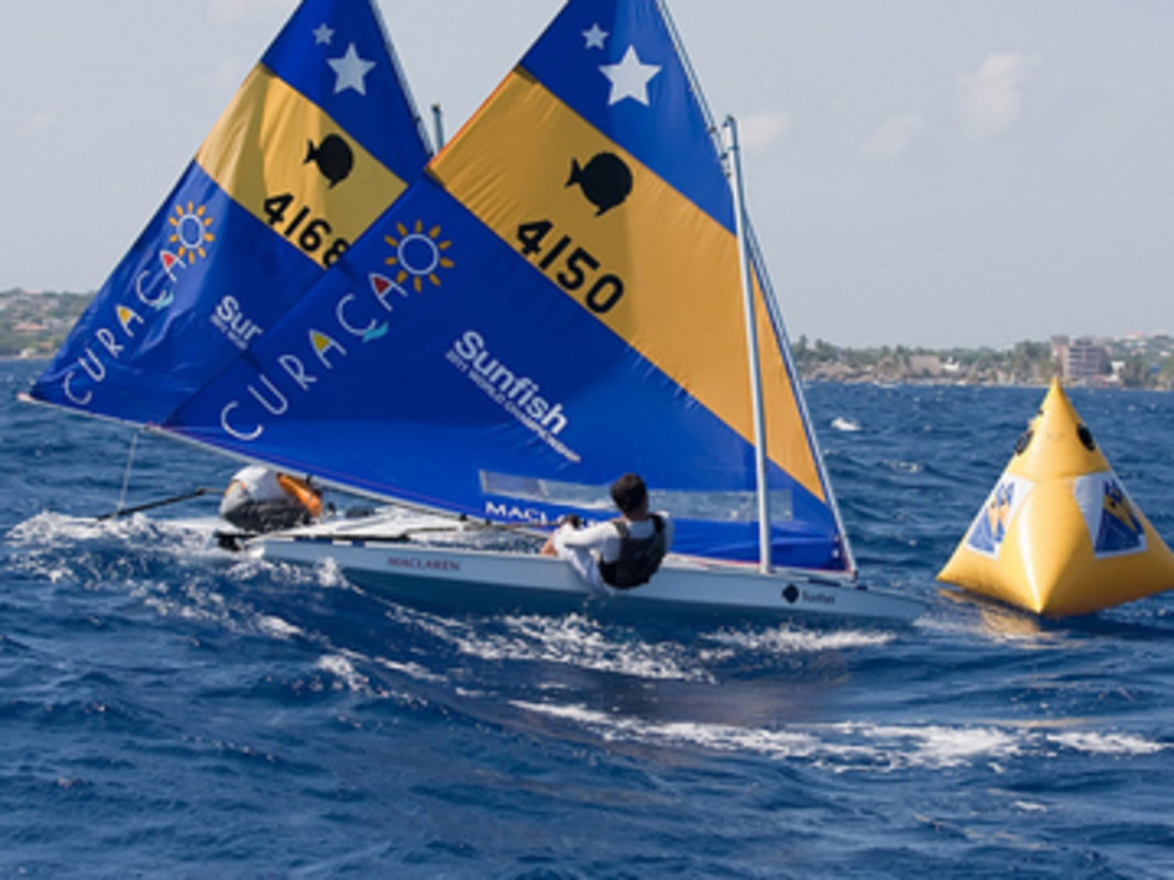 Youth Sunfish Worlds Action