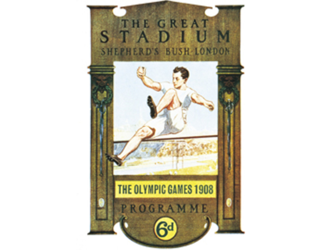 London 1908 Olympic Games Poster