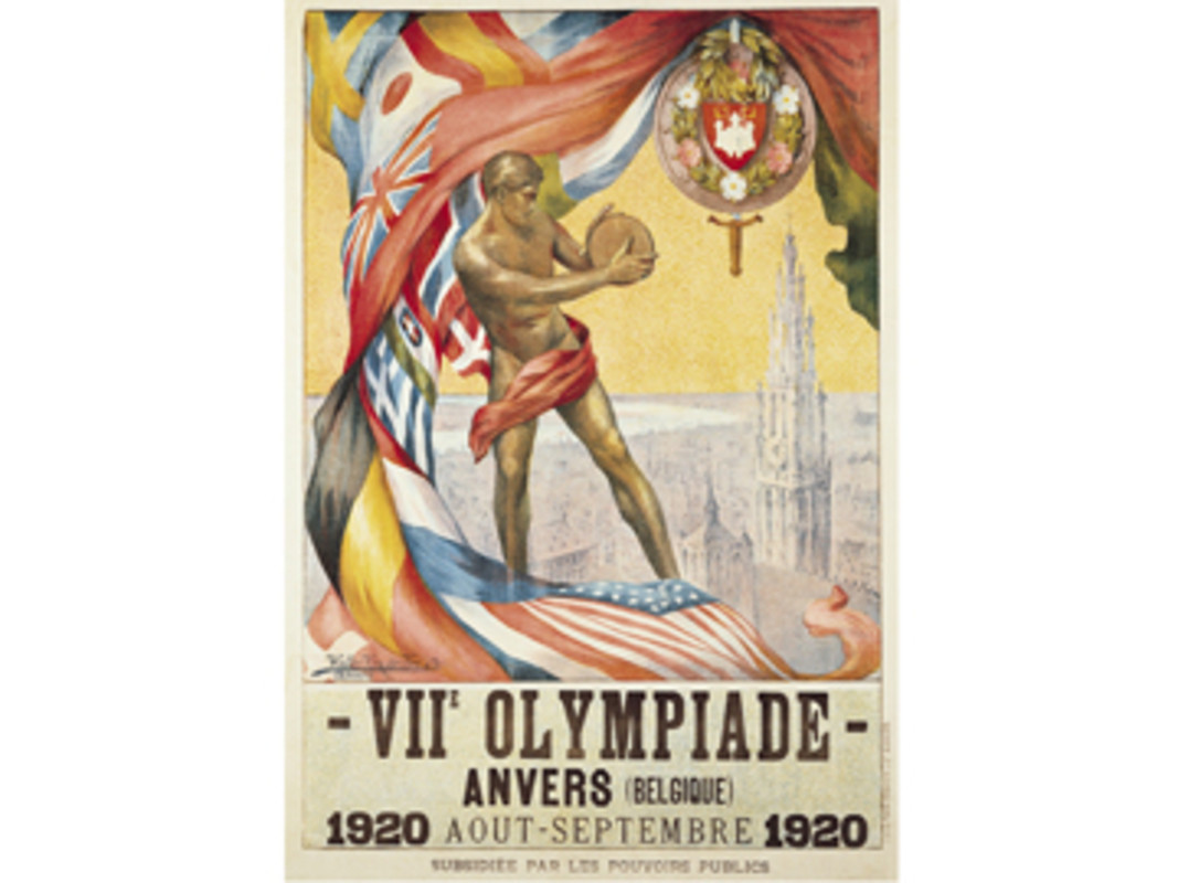 Antwerp 1920 Olympic Games Poster