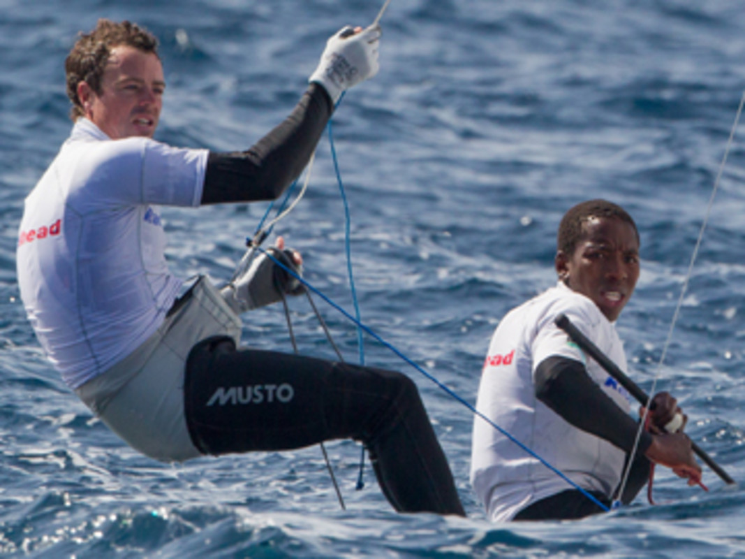 Asenathi Hudson and Roger Hudson Qualified For The South African Men's 470 Spot