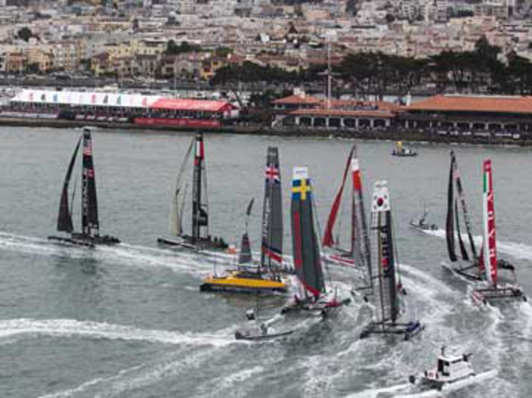 Fleet racing in San Francisco