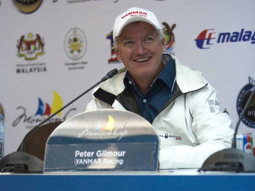 Gilmour announces his retirement at the Monsoon Cup