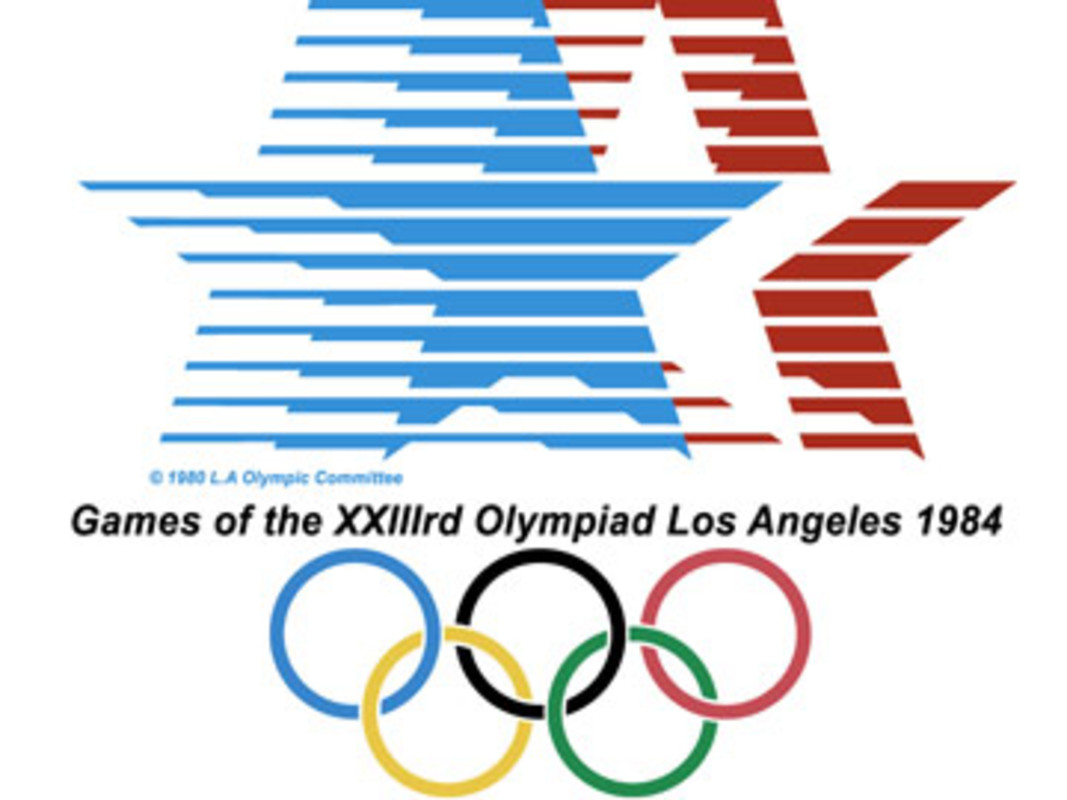 1984 Olympic Games Poster