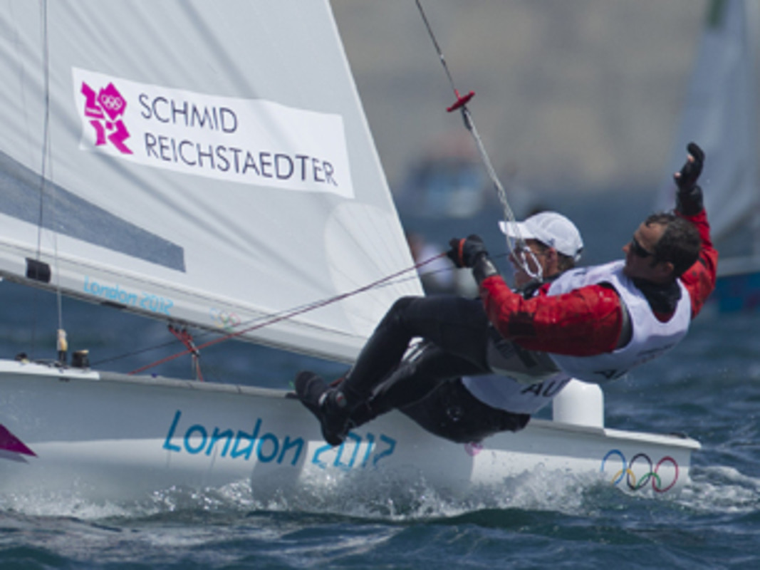 Matthias Schmid and Florian Reichsteaedter (AUT) took the final Medal Race spot