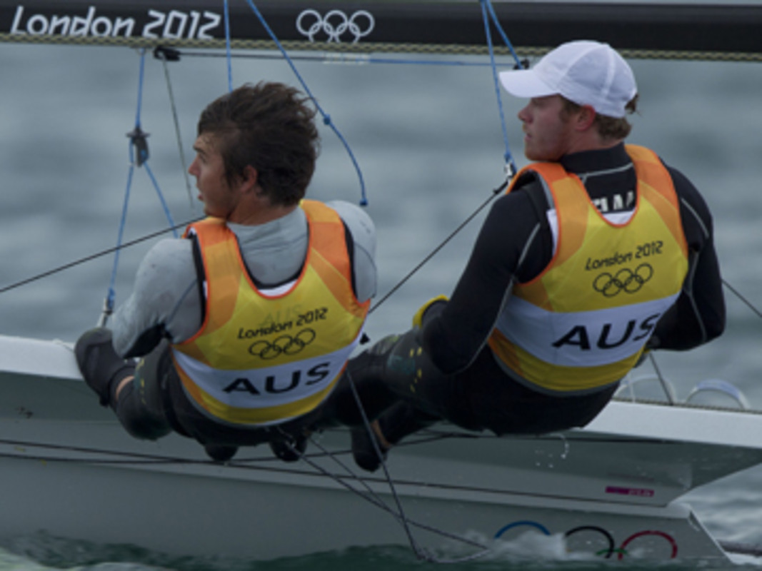 Nathan Outteridge and Iain Jensen (AUS)