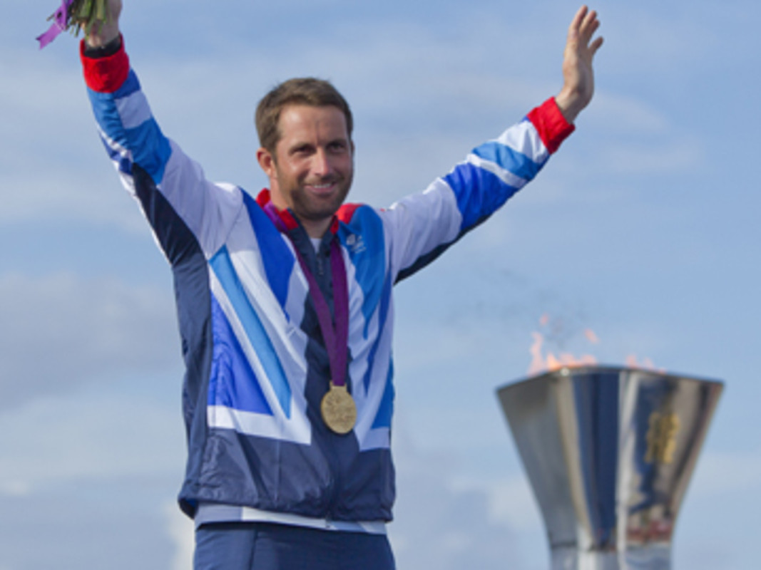 Ben Ainslie (GBR), the most successful Olympic sailor of all time
