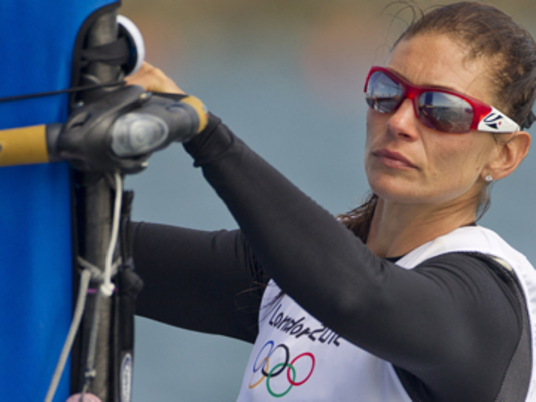 Nikola Girke (CAN) will sail in the Women's RS:X Medal Race