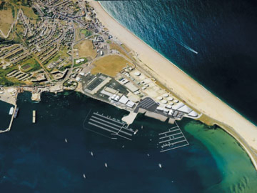 The world class facilities at Weymouth and Portland willl host the sailing events in 2012