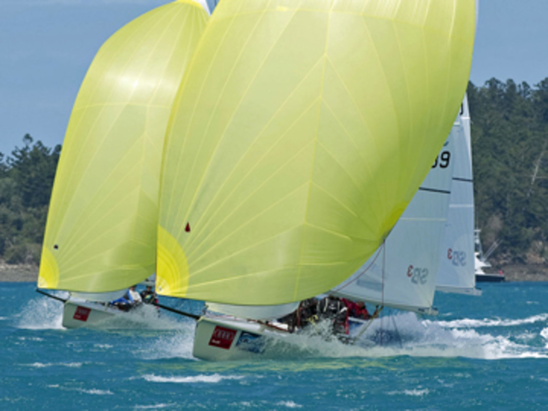 Racers get up to speed with the Hamilton Island conditions