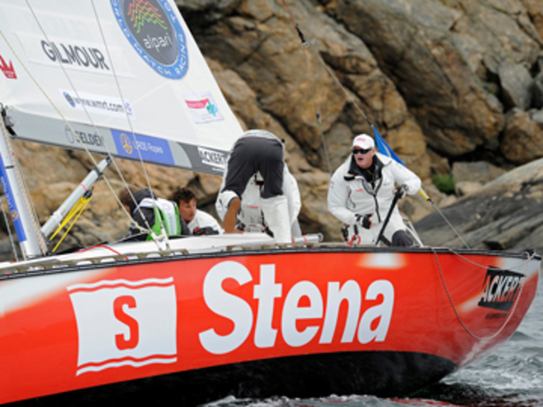 Peter Gilmour takes an early lead at STENA Match Cup Sweden