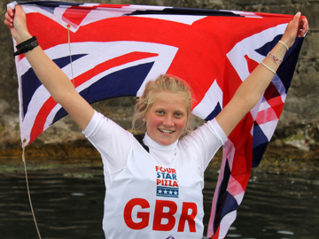 Sills flies the British flag in Dun Laoghaire, Ireland