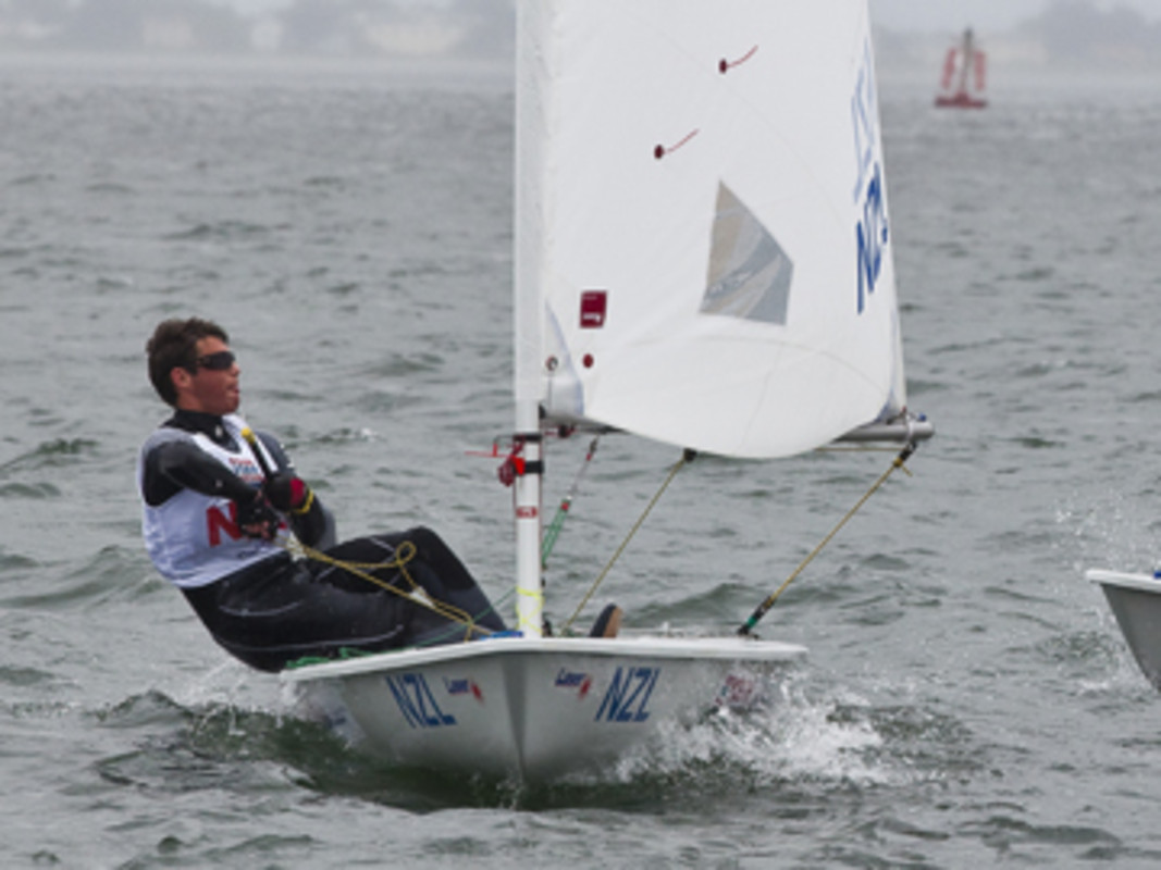 Andrew McKenzie at the 2012 ISAF Youth Worlds